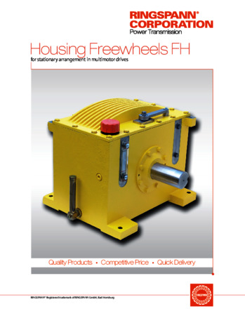 Housing Freewheels FH